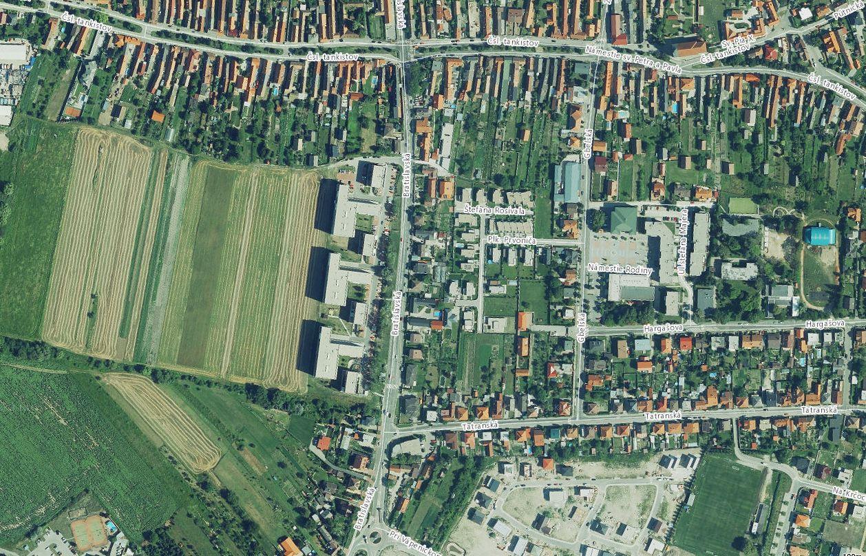 Investičný pozemok pri Rezidencii Záhorská