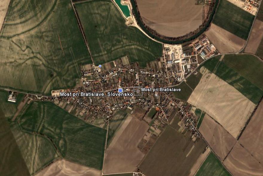 Pozemok v Moste pri Bratislave ,11391m2